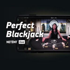 NetEnt's Perfect Blackjack Tables Go Live