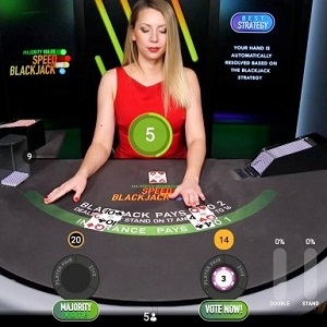 New Playtech Live Blackjack game